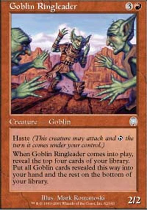 goblin ringleader apocalypse magic the gathering