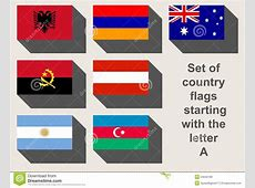 Set Of A Country Flags Stock Illustration Image 54042189
