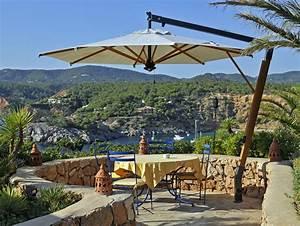 Parasol De Terrasse : parasol d port pour terrasse restaurant et h tel grand parasol excentr de luxe ~ Teatrodelosmanantiales.com Idées de Décoration