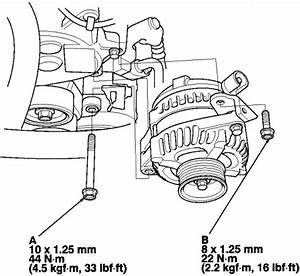 Procedures To Change Out My Alternator On My 2002 Honda