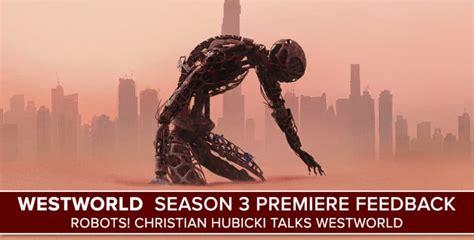 Robots! Christian Hubicki Talks Westworld - PostShowRecaps.com