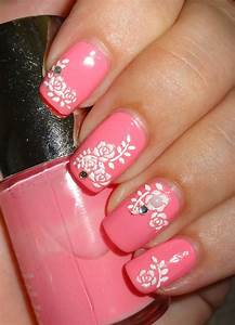 Wendy U0026 39 S Delights  Nailtopia White Floral Clusters With