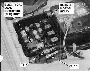 P1298 2000 Honda Civic Electric Load Detector Circuit High