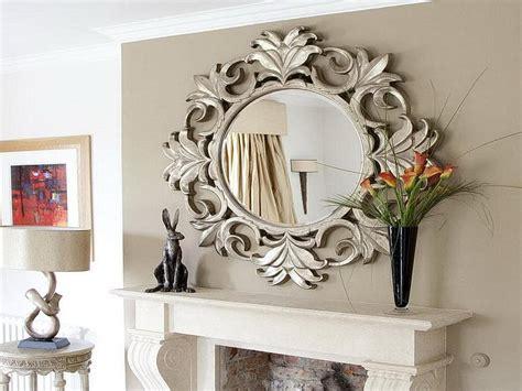 decorative mirrors  living room interior design