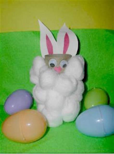 easter bunny toilet paper roll craft allfreekidscraftscom