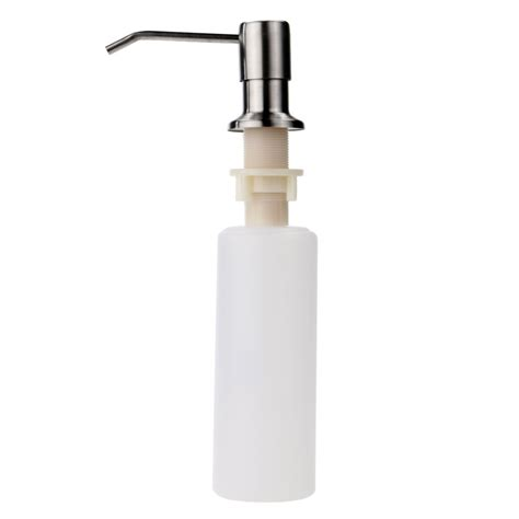 built in sink soap dispenser inspirations sink soap dispenser for soap supply system