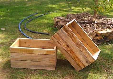 Diy Pallet Planter Box Ideas
