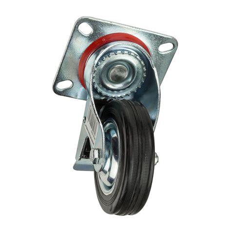 lenkrollen mit bremse transportrollen lenkrollen mit bremse d 100 mm bis 70 kg
