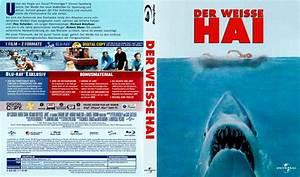 Der weisse Hai Blu Ray DVD cover (1975) R2 german