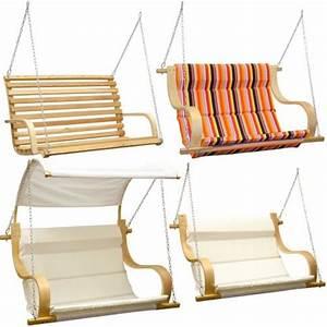 gartenschaukel hollywoodschaukel holz 3 sitzer gartenbank With französischer balkon mit schaukel garten erwachsene