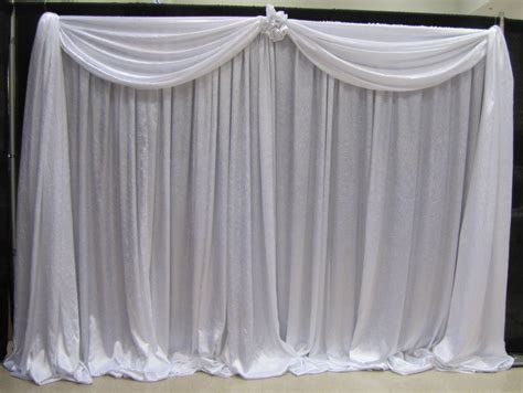 pipe drapes pipe and drape on wedding stage wedding stage