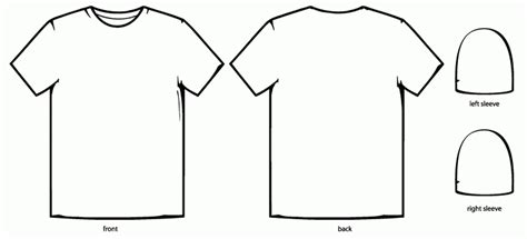 Tshirt Basic Template by T Shirt Design Template Doliquid