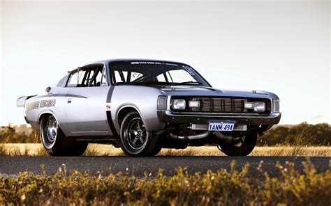 Chrysler Valiant Charger-rt Cars Old Gray Motors Wallpaper