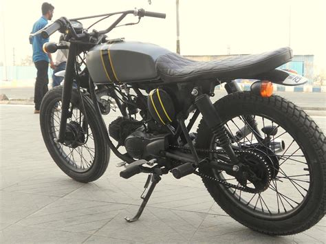 Modified Bikes Cd Deluxe by Honda Cd Deluxe Tracker By Ayas Custom Motorcycle