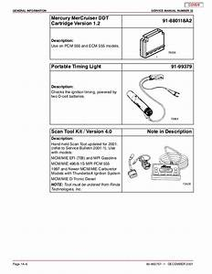 Mercury Mercruiser 496 Mag Diagnostics Service Repair Manual Sn 0m000 U2026