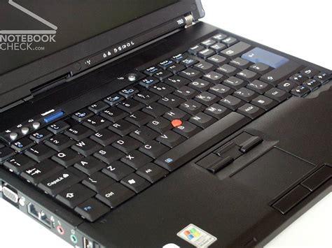 lenovo ibm thinkpad tp notebookcheckcom externe tests