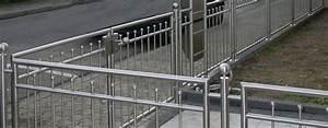 Gartenzaun Aus Metall : gartenzaun edelstahl trier wittlich luxemburg luxembourg mainz ~ Orissabook.com Haus und Dekorationen