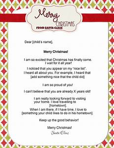 free letters from santa With letters to and from santa