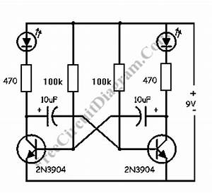 circuit With led hobby circuit
