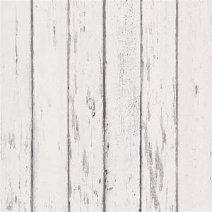 Distressed white wood wallpaper. Rustic appeal. | Navy and ...