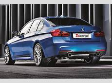 Akrapovic Evolution F30 BMW M335i