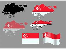 Singapore Map And Flag Vectors Download Free Vector Art