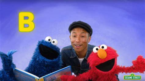 pharrell williams teaches elmo  cookie monster