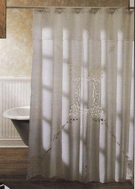 lace shower curtains cotton lace shower curtain batten lace crochet lace eyelet lace the lace and linens co