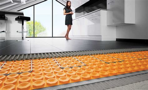 Floor Warming System Provides Sound Control and Thermal