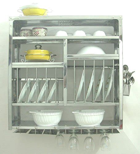 dish display rack dish drying display rack stainless steel made wall