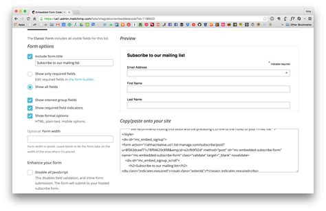 Mailchimp Embed Signup Form by How To Segment Your Mailchimp List Into Groups