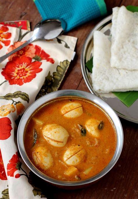 mangalorean egg curry recipe mangalore food recipes
