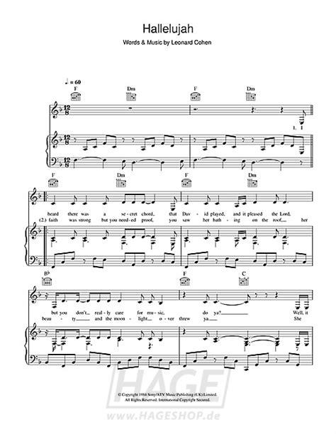 Kostenlos Herunterladen Klaviernoten Hallelujah Alexandra Burke