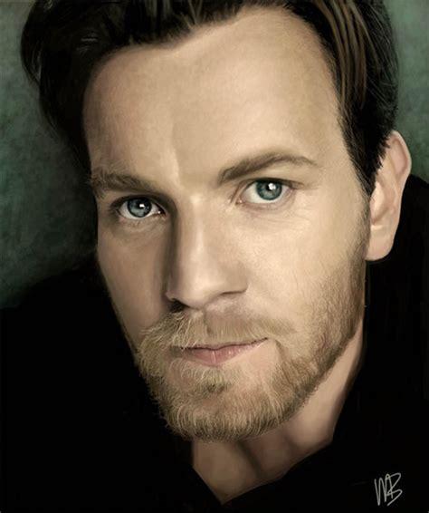 dazzling  gorgeous examples  digital portraits  men