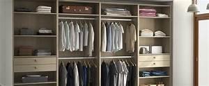Solution Dressing Pas Cher : dressing dans une chambre 3 solutions pour y voir clair ~ Premium-room.com Idées de Décoration