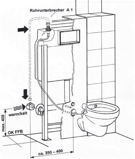 hänge wc einbauen temtasi solina taluna dusch wc und bidet in einem