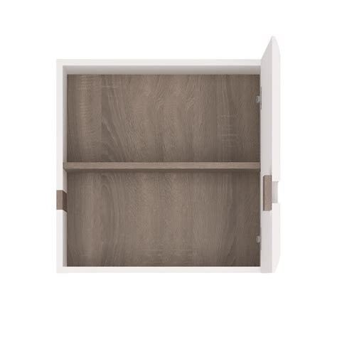 White High Gloss Cupboard by White High Gloss 1 Door Wall Cupboard Homegenies