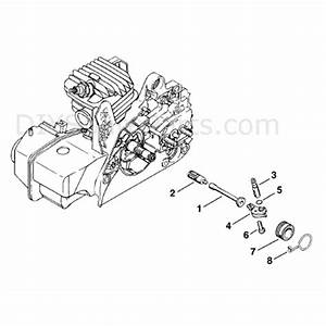 Stihl Ms 250 Chainsaw  Ms250  Parts Diagram  Oil Pump