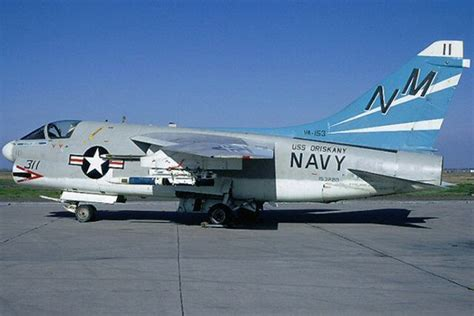 311 A-7a Corsair Ii Of Va-153 The Blue Tailed