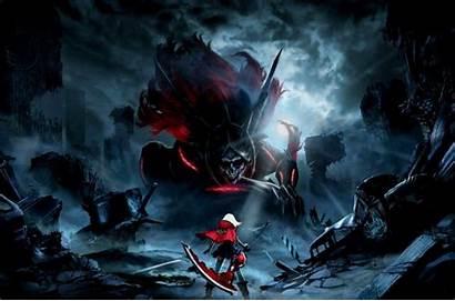 Anime Wallpapers God Eater Aragami Scythe Gaming