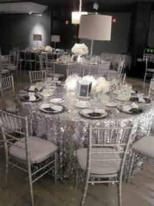 silver wedding decorations 32 silver and white winter wedding ideas weddingomania