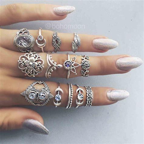 princess cut black ring jewelry rings siudy