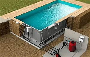 Piscine En Kit Polystyrène : piscine en kit acier b ton polystyr ne bois ~ Premium-room.com Idées de Décoration