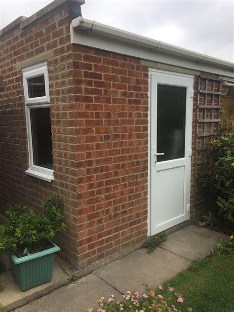 garage door windows new pvcu door window to existing garage cheltenham
