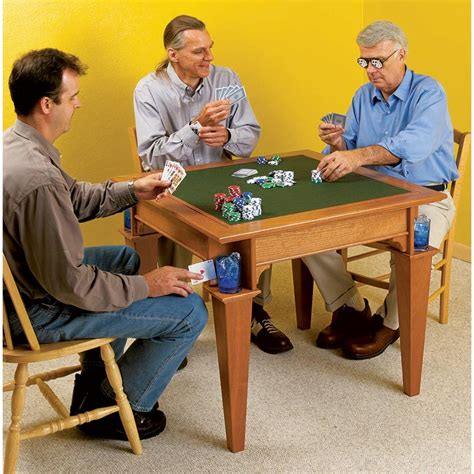 game table woodworking plan  wood magazine