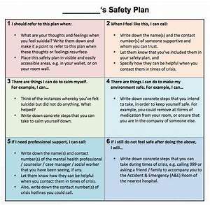 personal improvement plan template freepersonal With personal safety plan template
