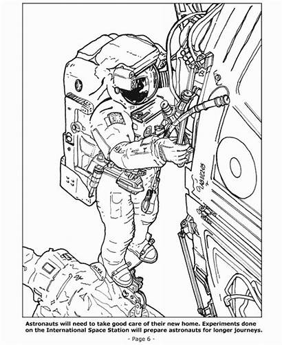 Space Coloring Pages Spaceman