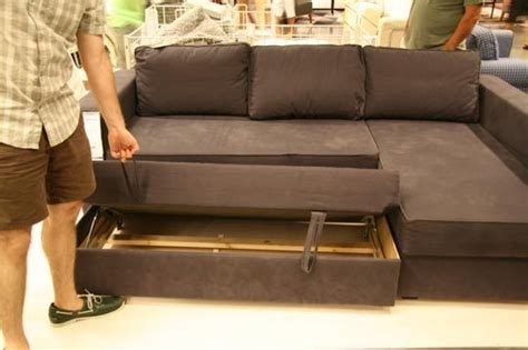 Manstad Sectional Sofa Bed Storage Ikea by Manstad Sectional Sofa Bed Storage From Ikea Sofa