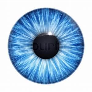 An image of a nice blue eye texture | Stock Photo | Colourbox
