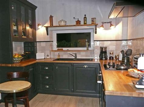 meuble cuisine style cagne meuble de cuisine style industriel maison design bahbe com